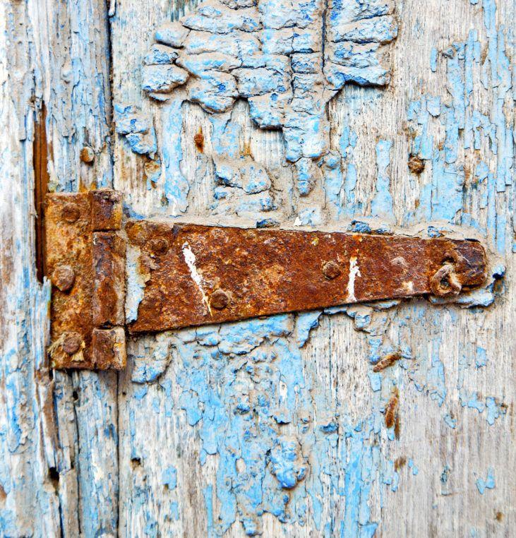 little hinges swing big doors