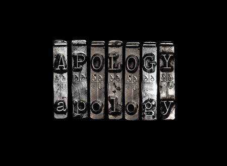 art of the apology