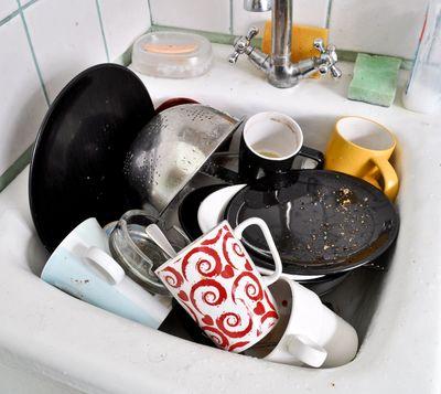 kitchen sinking