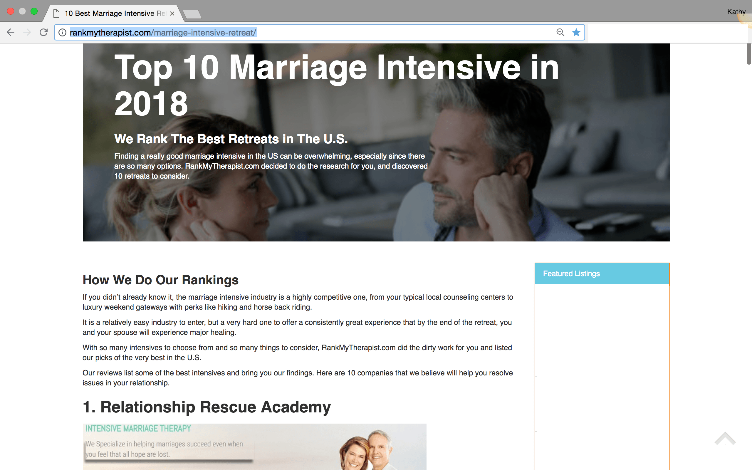 Top marriage websites